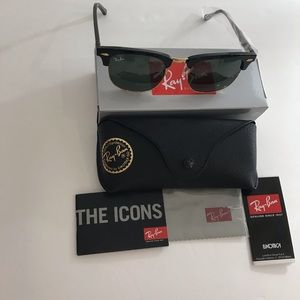 RayBan clubmaster sunglasses RB3016 unisex
